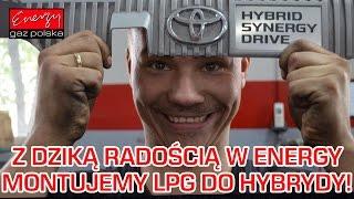 Montaż LPG do HYBRYDY Toyota Auris z 1.8 99KM 2014r w Energy Gaz Polska na gaz BRC