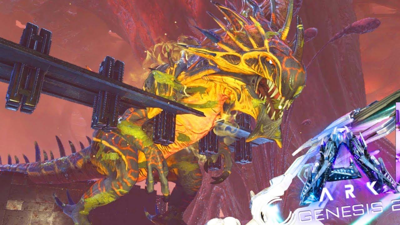 ARK GENESIS Part 2 #41 - Eu ENGRAVIDEI da REAPER Queen! (Como domar Reaper King)
