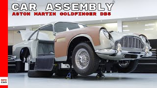 Aston Martin Goldfinger DB5 Continuation Car Assembly