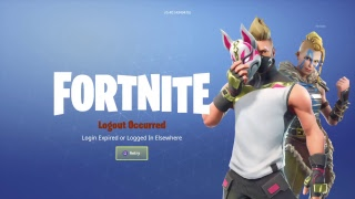 Fortnite Garrison Skin live Gameplay