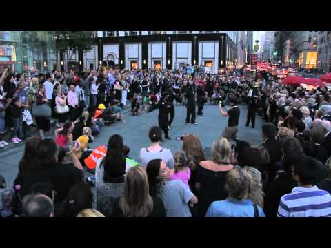 A Flash Mob Tribute To New York