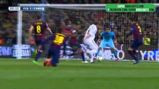 fc barcelona vs real madrid 2 1 sky sports super highlights 22 3 2015 hd 720p