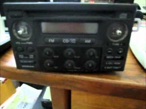 Get a Honda Radio Code *For Free* - YouTube