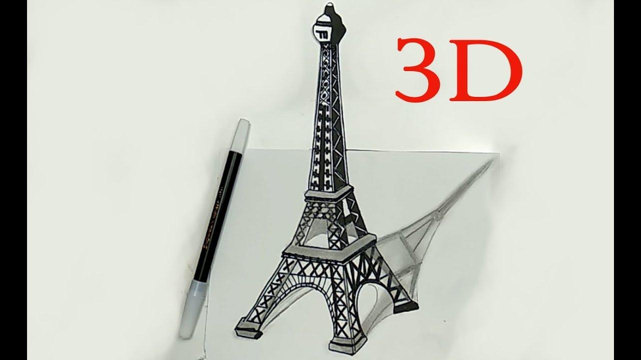 Gambar Ilustrasi Menara Eiffel