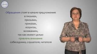 Русский язык 8 класс. Выделительные знаки препинания при обращении