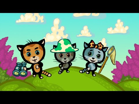 Детские песенки - КОТЯТКИНЫ ИСТОРИИ - Надо кушать и расти - Развивающие мультики для детей