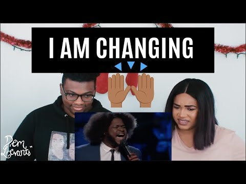 The Voice 2017 Davon Fleming - The Playoffs I Am Changing| REACTION