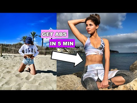 how-to-get-abs-fast-|-5-minute-ab-workout-|-sanne-vander