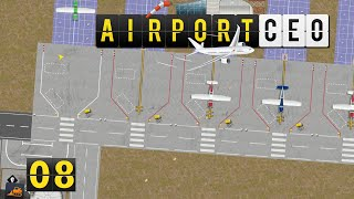 Airport CEO | Bus System und Taxiways ► #8 Flughafen Bau Management Simulation deutsch german