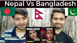Pakistani Boys React to Nepal Vs Bangladesh 🇧🇩 🇳🇵