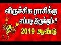 விருச்சிகம் - 2019 ஆண்டு ராசிபலன் |  VIRUCHIKAM   2019 YEAR PREDICTION