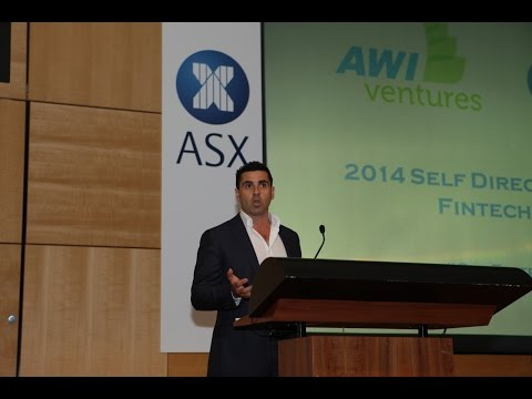 James Marlay - Co-founder Livewire Markets - AWI / ASX Sydney Fintech Expo 2014