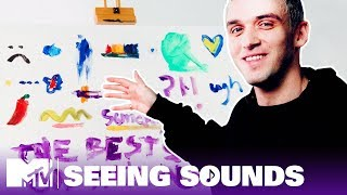 Lauv Can 'See' His Songs, So We Had Him Paint Them   Seeing Sounds