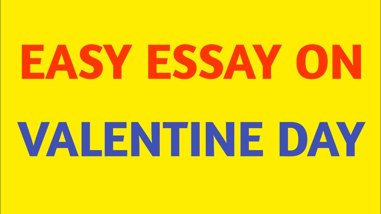 A valentines write paragraph day about FREE Valentine's