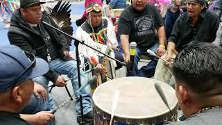Lightning Horse  Singers  - Diné College Powwow 2019, SNL