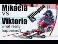 Mikaela Shiffrin vs Viktoria Rebensburg GS Killington 2017 Technical Analysis