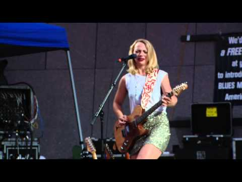 Music Land Network Samantha Fish Highlights at the Cincy Blues Fest 2015