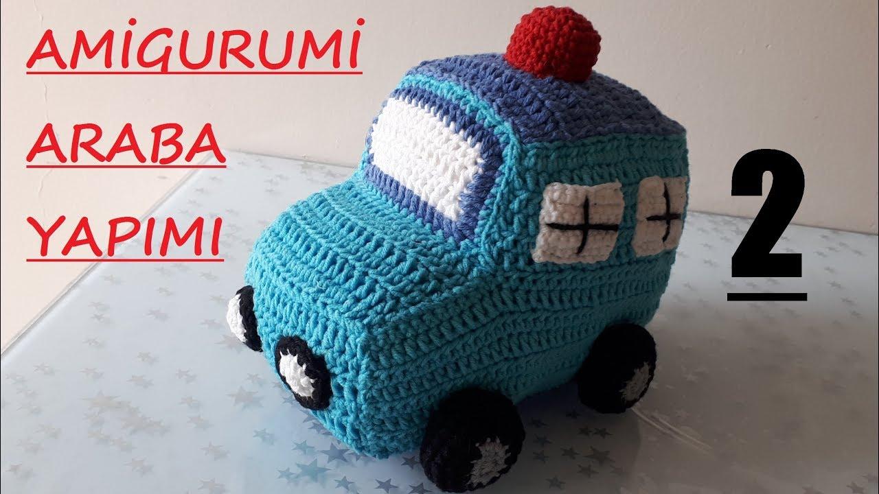 Amigurumi Araba Yapımı | Araba, Amigurumi, Klasik arabalar | 720x1280