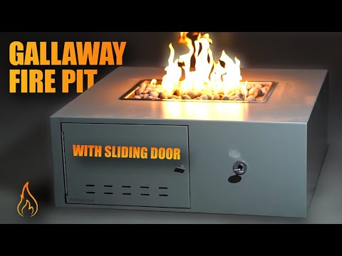 Introducing The Gallaway Low Profile Metal Fire Pit!