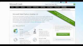 Introduction to Microsoft Web Platform Installer Part 1
