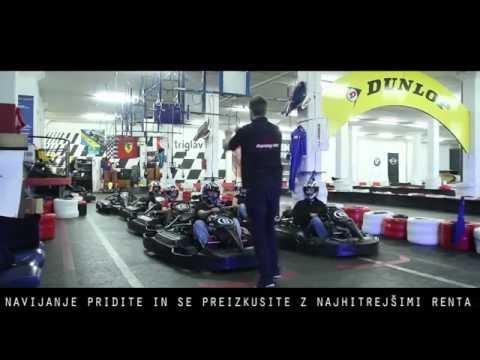 Rollbar Karting Center BTC Ljubljana / Slovenia (Presentation Video)