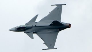 Saab JAS 39 Gripen SWEAF at ILA 2010