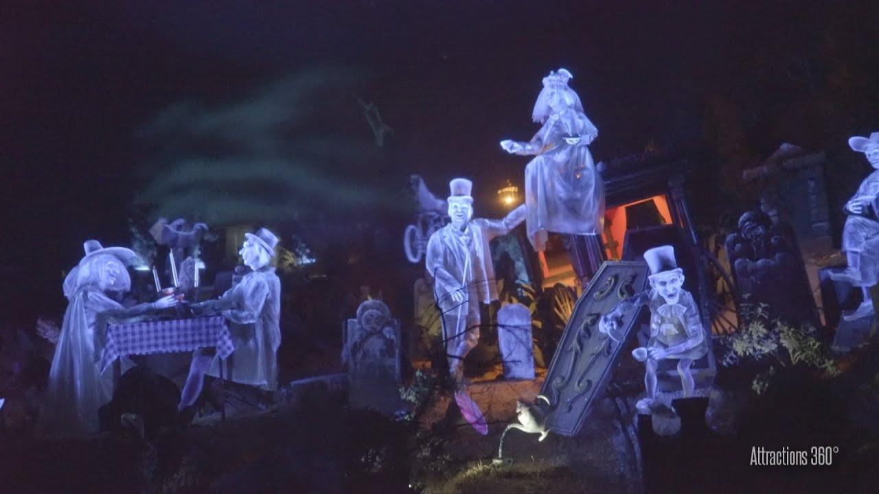 4k Tokyo Disneyland Haunted Mansion Ride 2016