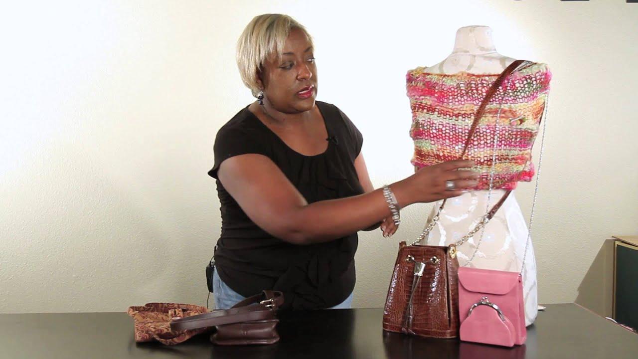 How To Shorten A Long Handbag Strap Handbag Ideas Youtube