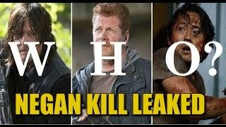The Walking Dead Season 7 Negan Kill Spoilers Jeffrey Dean Morgan Confirms Multiple Victims