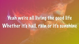 The Script - Hail Rain or Sunshine (Lyrics+Official Audio)