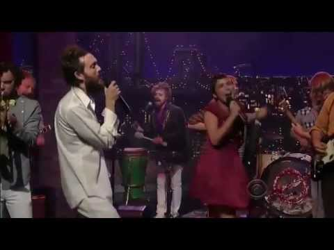 Edward Sharpe and the Magnetic Zeros - Home (on Letterman)