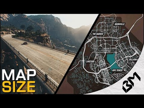 Need For Speed Payback Map Size How Big Is The Map Youtube