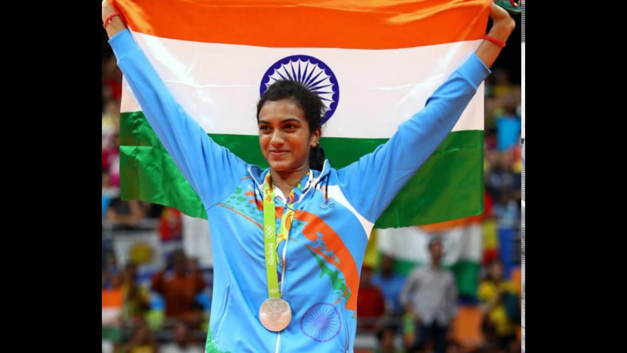 pusarla venkata sindhu won the silver medal in Rio Olympics