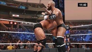 WWE 2K19 - Triple H vs The Rock - Iron Man Gameplay (PC HD) [1080p60FPS]