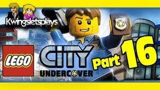 Lego city undercover - Walkthrough Part 16 Astronaughty