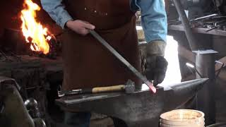 Forging a Hidden Tang Hunter with Ed Clarke
