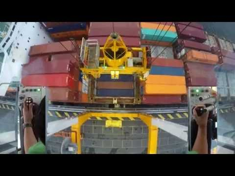 How to handle HATCH COVERS: JOYSTICK CAM - STS Gantry Crane DUALCAM