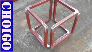 Creative steel work--(Make without Cut peices)