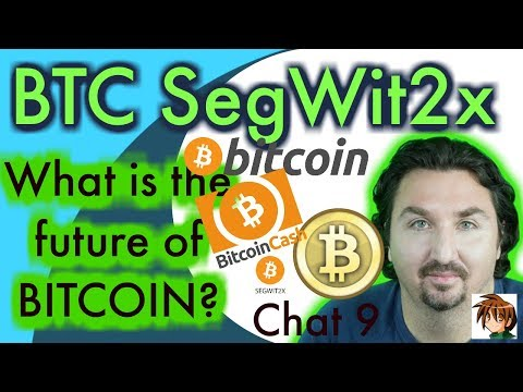 What's the future of Bitcoin BTC Bitcoin cash BCH SegWit2x B