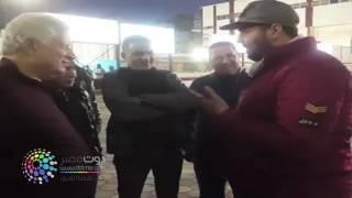 شاهد مسخرة مرتضى منصور يواجه من يقلده ورد فعل مرتضى فين الشتيمة يبني