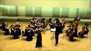 Vieuxtemps Elegy for viola and strings Ugne Tiskute & Orchestra
