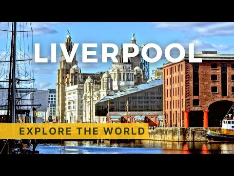 Walking In Liverpool, UK