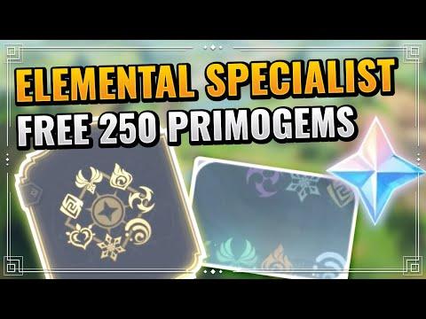 Genshin Impact Elemental Specialist Achievement Guide (F2P Friendly) Rainbow Namecard Unlock