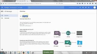 Vidconnect - how to get youtube API key