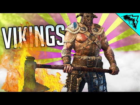 For Honor Viking Gameplay - VIKING GOD (Viking multiplayer Gameplay Warlord, Raider, Berserker)