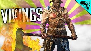 For Honor Viking Gameplay - VIKING GOD (Viking multiplayer Gameplay Warlord, Raider, Berserker)