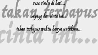 4WD - Jangan Lupakan Aku (lyric on screen) by Guzt B FvckinHero