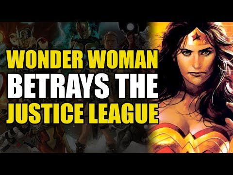 Wonder Woman Betrays The Justice League (Justice League of America: League Of One)