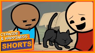 Mittens - Cyanide & Happiness Shorts