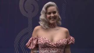 Anne-Marie attending the O2 Silver Clef Awards